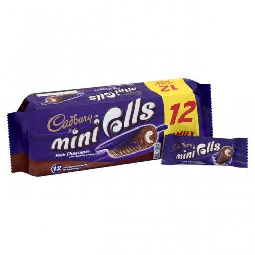 Cadbury Milk Chocolate Mini Rolls (12) - £1.37 (Half Price) @ Sainsbury's...