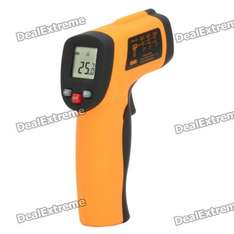 LCD Digital Infrared Thermometer - £9.39 from DX