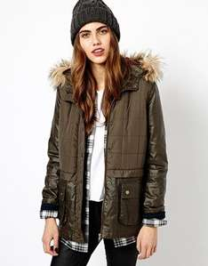 River Island Double Layer Quilted Parka - ASOS sizes 6-18 was £65.00 further 15%off with code £16.15