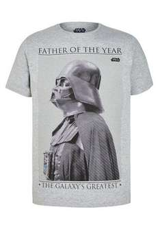 Star Wars Fathers Day Print T-Shirt  Now £2.50 Was £10.00 @ matalan