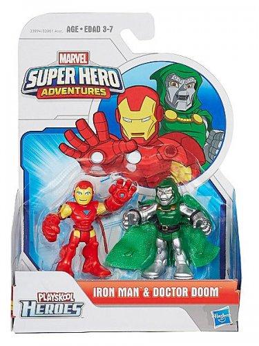 House of Fraser Playskool heroes- Iron Man & Doctor Doom 2 pack - £3.99