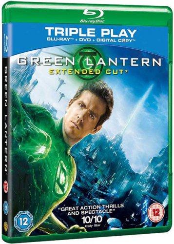 Green Lantern - Triple Play (Blu-ray + DVD + Digital Copy) - £3.99 - Base