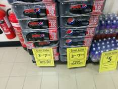 30 cans of pepsi or pepsi max for £7.50 at farmfoods