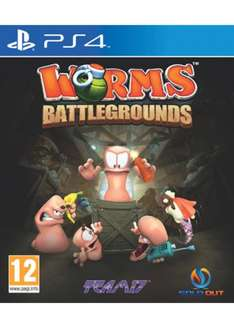 Worms Battlegrounds (PS4) £18.99 Delivered @ Base