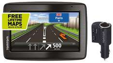 TomTom Start 25 M Sat Nav - UK, ROI & W-Europe Maps with Lifetime Updates £90 w/ Satnav Wetwipes @ Halfords