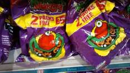 7 for price 5 x 22g Monster Munch - £1 @ Poundland