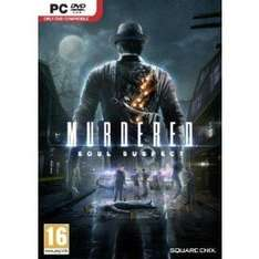 Murdered: Soul Suspect PC £9.49 (with FB code) @ CDKeys