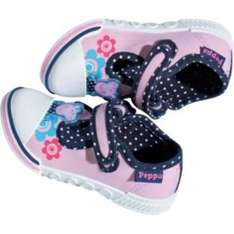 Peppa Pig Toddle Canvas Shoes sizes 6-9 £4.99 Argos