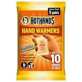 HotHands Hand Warmers 5 Pair Pack £2.10 and HotHands Foot Warmers 5 Pair Pack £2.80 Deliv to Store at Tesco Direct (Even cheaper instore if stock left)