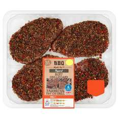 Half price peppered grill steaks.680 gm £2 @ Morrisons