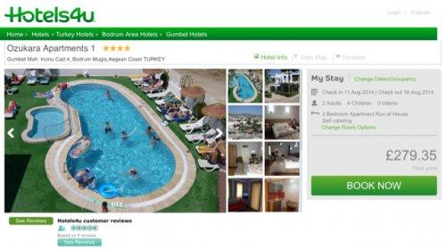 Turkey * school hols * 11-19 August * Family of 6 * Flights + Hotel + Transfers = £1131 * @ Hotels4u