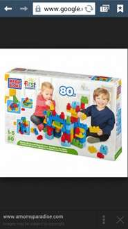 The box of 80 Mega Bloks only £5 in Tesco Southend