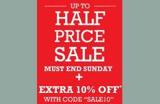 Bath store sale upto 50% off plus extra 10%