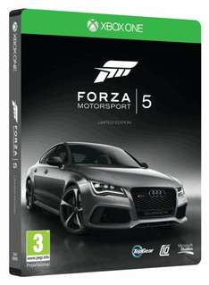 Forza 5 Steelbook Edition (Xbox One) (Preowned) £22.00 @ Game (Day One Edition Same Price)