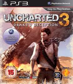 Uncharted 3: Drakes Deception (PS3) (Preowned) £3.00 Delivered @ Game