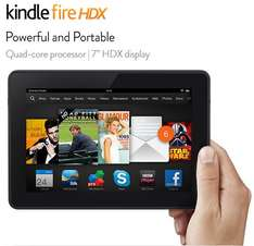 """Kindle Fire HDX 7""""  WiFi Only   16GB £199.00 delivered at Amazon"""