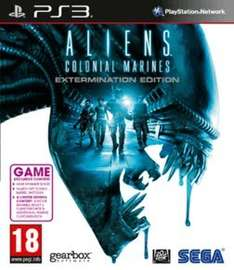 Aliens: Colonial Marines - Extermination Edition - Only at GAME (PS3/X360/PC) £3.00 Delivered @ Game (New)