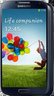 Free Samsung Galaxy S4, 500 Minutes, Unlimited Texts, Unlimited Internet, T Mobile, £27.99pm before cashback, £19.99pm after cashback redemption @ mobilephonesdirect