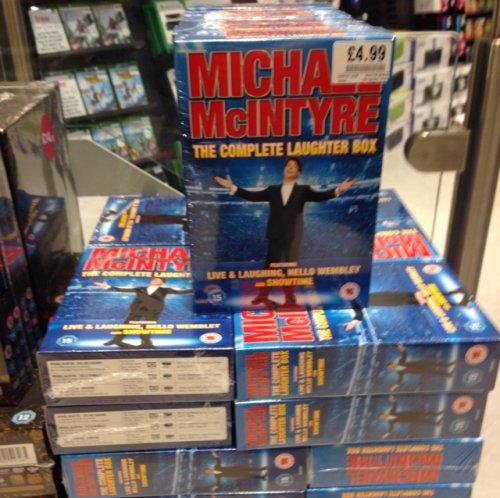 Michael McIntyre - Complete Laughter Boxset £4.99 at HMV