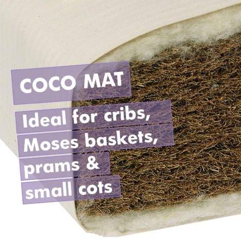 Naturalmat Coco Mat Cot Mattress £65