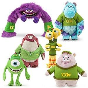 Half price sale now on. Monsters university plush just £2 each! @ Disney Store (Instore)