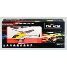 Rotorz Infrared 3.5 Channel Helicopter with Gyro £10.20 inc. 15% club discount, collect at store @ Hobbycraft Online