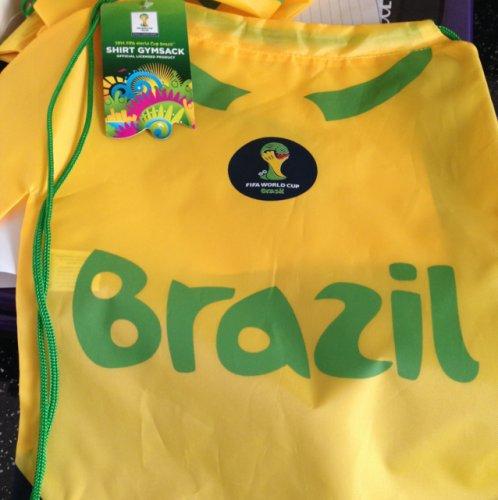Brazil shirt gym bag 39p @ Sainsburys reedswood