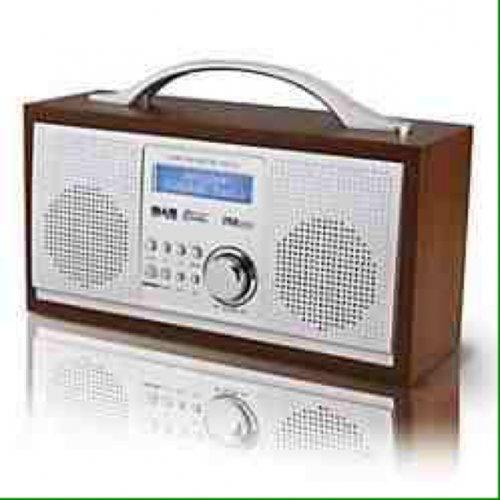 Red NE-3111R DAB Wooden Digital radio £29.99 @ Sainsburys
