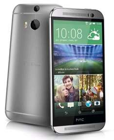 HTC One (M8) SIM Free (Grey, Silver) £469.99 @ Expansys (£7.83 Quidco)
