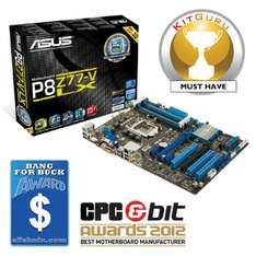 Asus P8Z77-V LX Motherboard £63.08 @ Amazon
