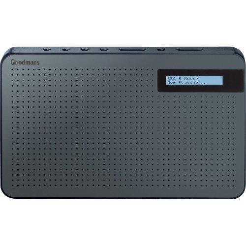 Goodmans GMR1886DAB Portable Black DAB Digital Radio £19.99 delivered at Co-op electrical on eBay