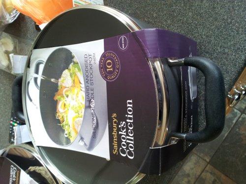 excellent deal - whole range of Cooks Collection pans 50% off £13 @ Sainsburys