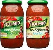 Dolmio Original/Original Light (500g) £1.02 or 57p (45p cashback from shopitize) @ Co-operative Food