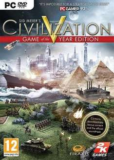 Sid Meier's Civilization V - Game of the Year Edition (PC) £6.99 Delivered @ Base