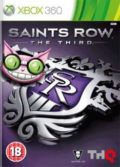 (Xbox 360) Saints Row the Third - Professor Genki Edition Preowned £3 Delivered @ Game