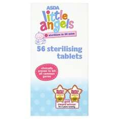 Asda- Sterilising Tablets - 56 for 73p - for beer & winemaking.