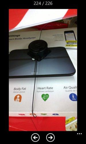 Withings Smart Body Analyzer - WS50 half price £64.50 - Tesco