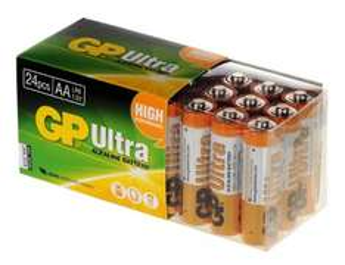 GP Ultra AA 24pk Ultra Alkaline Batteries £6.02 Delivered @ Amazon/Premier Solutions