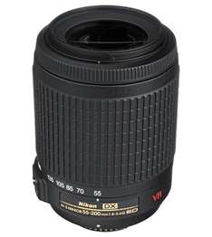 Nikon AF-S DX VR Zoom-Nikkor 55-200mm f/4-5.6G IF £120.18 @ Mobicity UK