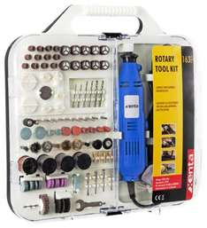 Xenta 163pcs Rotary Tool And Accessory Kit - £16.98 - eBuyer