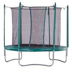 iBounce Trampoline with Safety Enclosure and Toolkit - £74.99 @ worldstores ebay
