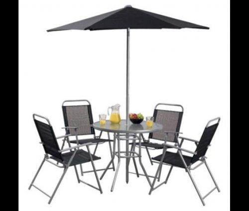 Hawaii 6-piece Garden Furniture Set £42 Tesco Direct