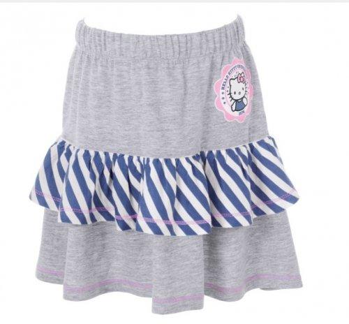 Hello Kitty Girls' Grey Frill Skirt - 5-6 Years.  £2.49 @ Argos