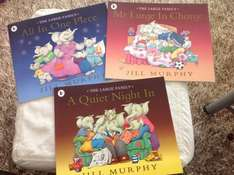 The Large Family Book Collection by Jill Murphy 89p @ Home Bargains