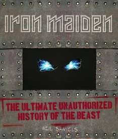 Iron Maiden Unauthorized hardcover book, free from Fopp Bristol (possibly national)