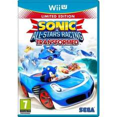 (Wii U) Sonic and All-Stars Racing Transformed Special Edition - £7.85 - Shopto