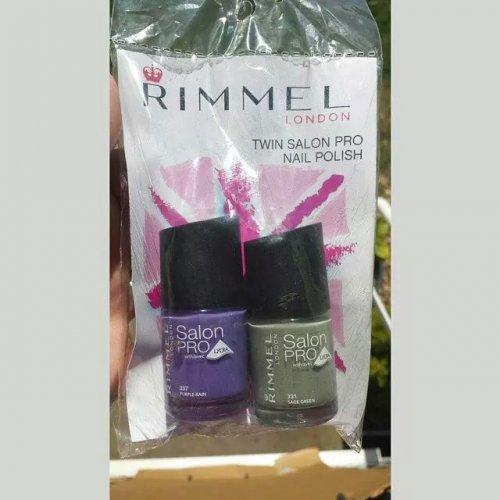 Rimmel nail varnish. 2 for £2.99 in b&m.