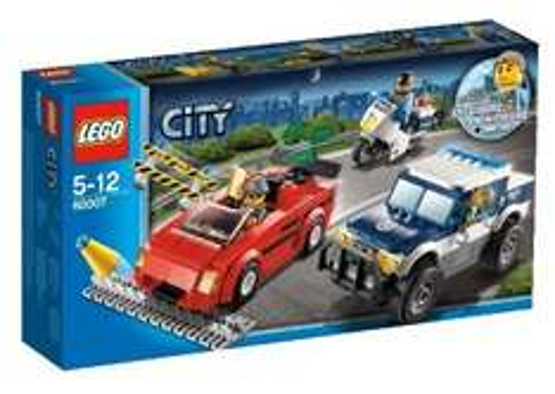 LEGO City 60007: High Speed Chase £11.99 @ Amazon