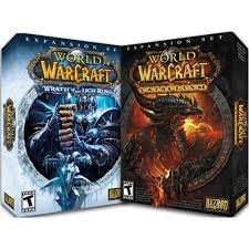 World of Warcraft Wrath of The Lich King and Cataclysm £1 each in Poundland