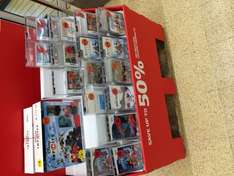 Sainsburys [Instore] up to 50% off Gaming Sale inc 2000 Wii Points £4.99 and Disney Infinity Starter Pack (PS3/Wii) 17.99